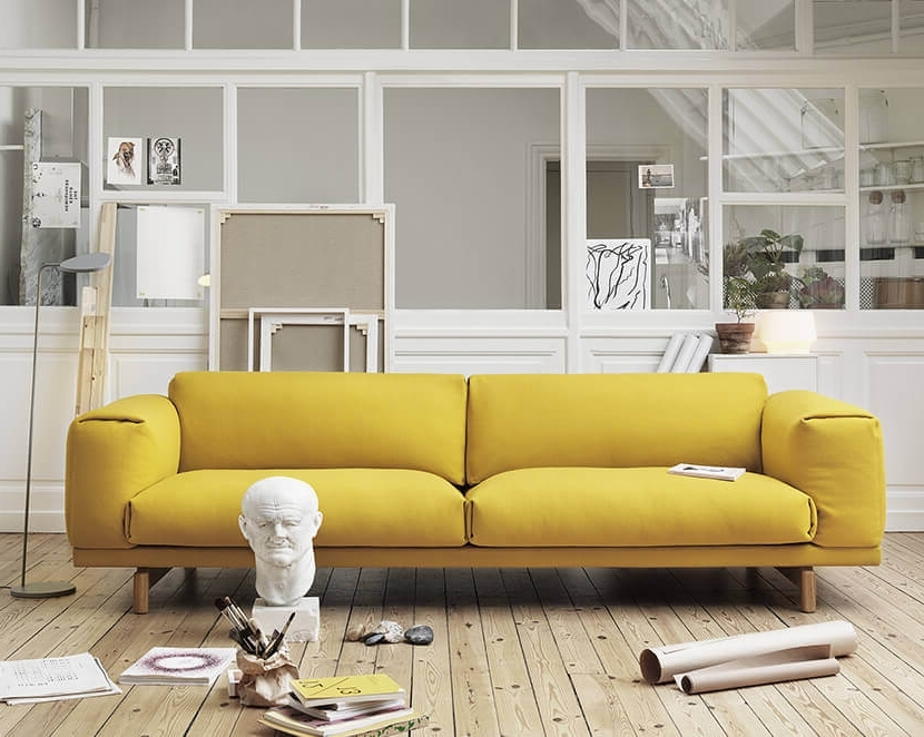 Low Sofas Intended For Widely Used Why The Chunky Low Sofa Has Our Attention – Emily Henderson (View 5 of 10)