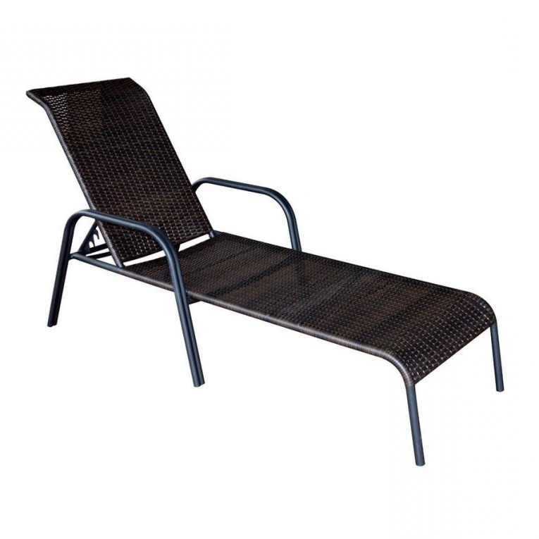 Lowes Outdoor Chaise Lounges With Well Liked Patio Chairs At Lowes With Chaise Lounge Patio Furniture (View 7 of 15)