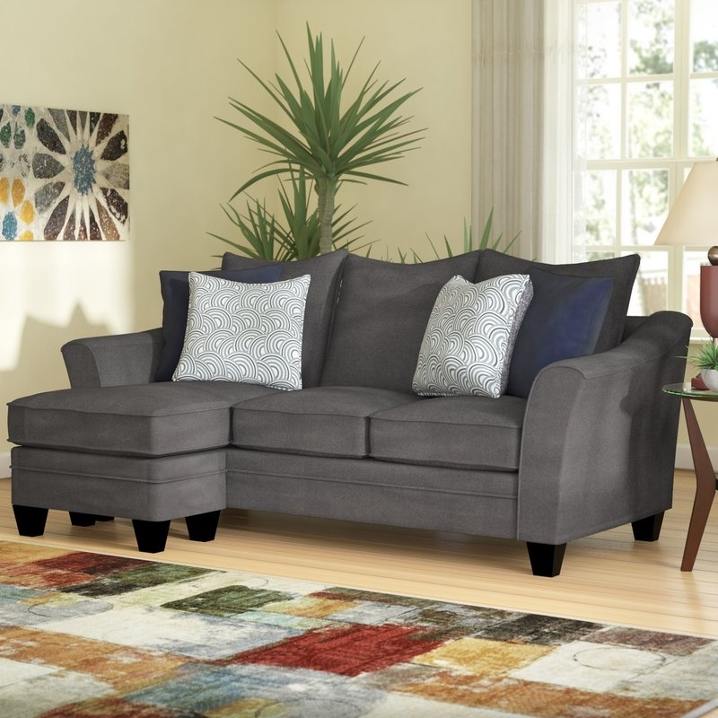 Macon Ga Sectional Sofas Within 2018 Latitude Run Teri Reversible Sectional & Reviews (View 6 of 10)