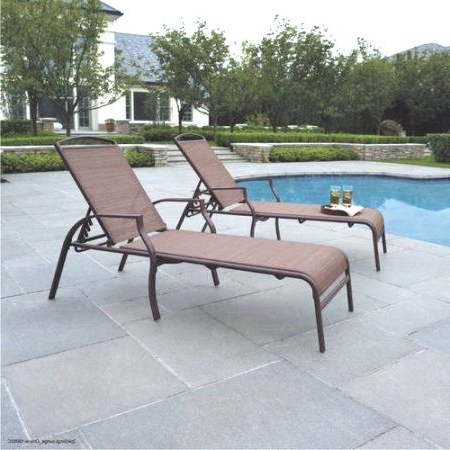 Mainstays Sand Dune Chaise Lounges Set Of 2 Walmart Unique Of Pool Intended For Latest Chaise Lounge Chairs At Walmart (View 7 of 15)