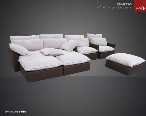 Media Room Sectional Sofas With Recent Luxury Media Room Sofas (View 5 of 10)
