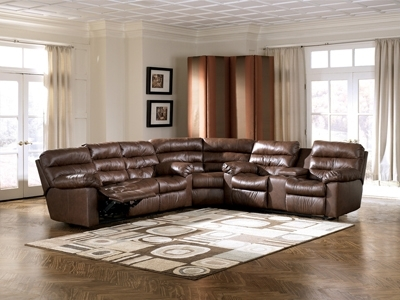 Memphis Sectional Sofas Inside Fashionable Memphis Brown 3 Piece Reclining Sectional Sofa (View 2 of 10)