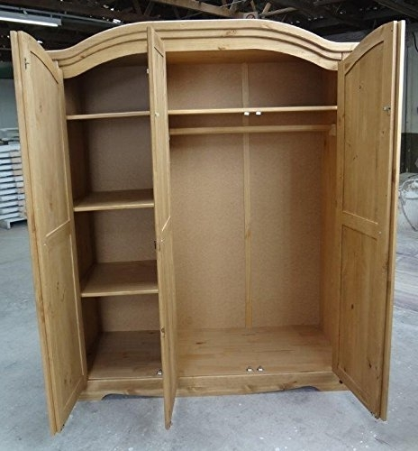 Mercers Furniture Corona 3 Door Arch Top Wardrobe – Search Furniture In Most Recent Corona 3 Door Wardrobes (View 9 of 15)
