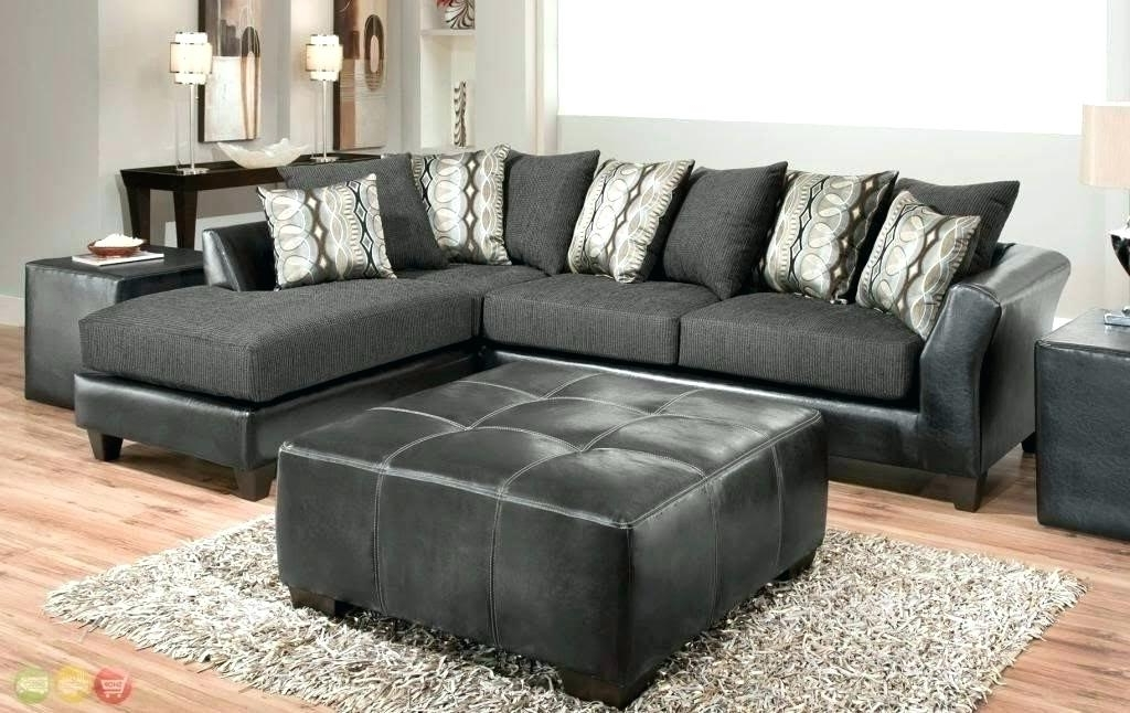 Microfiber Couch With Chaise 2 Piece Sofa Leather Sectional Couch With Most Current Microfiber Sectional Sofas With Chaise (View 4 of 15)