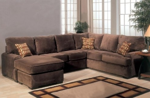 Featured Photo of Microfiber Sectional Sofas With Chaise