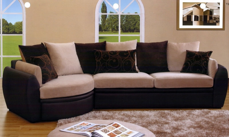Microsuede Sectional Sofas Regarding Well Known Suede Sectional Sofas (View 5 of 10)