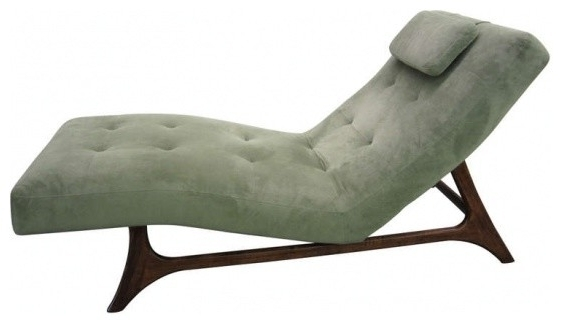 Mid Century Modern Chaise Lounges For Most Recently Released Mid Century Modern Chaise – Dixie Furniture (View 5 of 15)