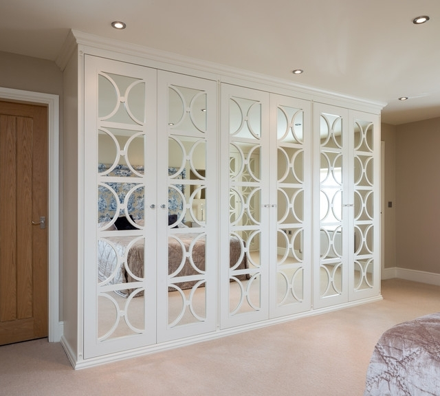 Mirror Wardrobes Regarding Fashionable Mirrored Wardrobes With Fretwork (View 8 of 15)