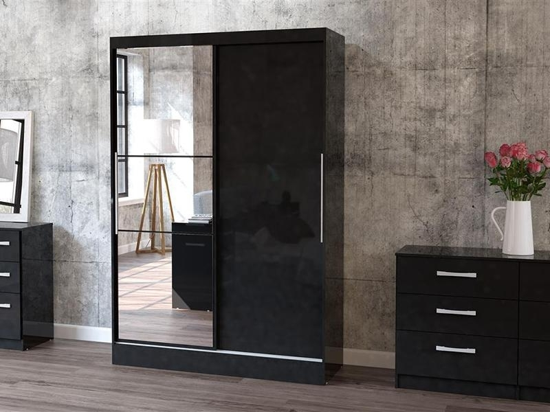 Modern Black Wardrobes (View 7 of 15)