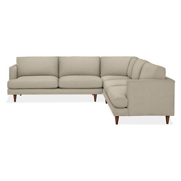 Modern Living Room Furniture, Modern Living In Trendy 110X110 Sectional Sofas (View 8 of 10)