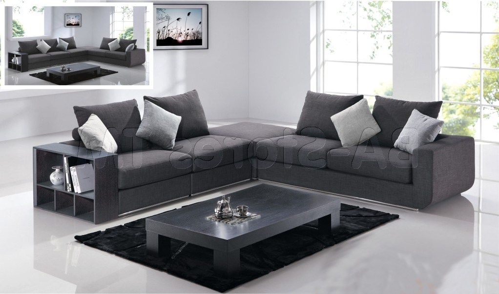 Modern Microfiber Sectional Sofa Awesome 18758 Zootydesign Modern Regarding Well Known Modern Microfiber Sectional Sofas (View 5 of 10)