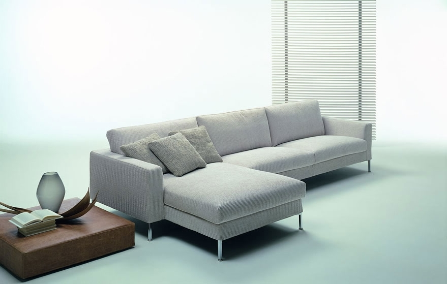 Modern Sectional Couch Sofa Endearing Modern Sectional Sofa Modern Pertaining To 2017 Modern Sectional Sofas (View 4 of 10)