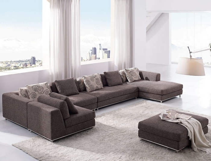 Modern Sectional Sofas With Famous Wonderful Modern Sofa Sectional With Furniture Modern Sectional (View 5 of 10)