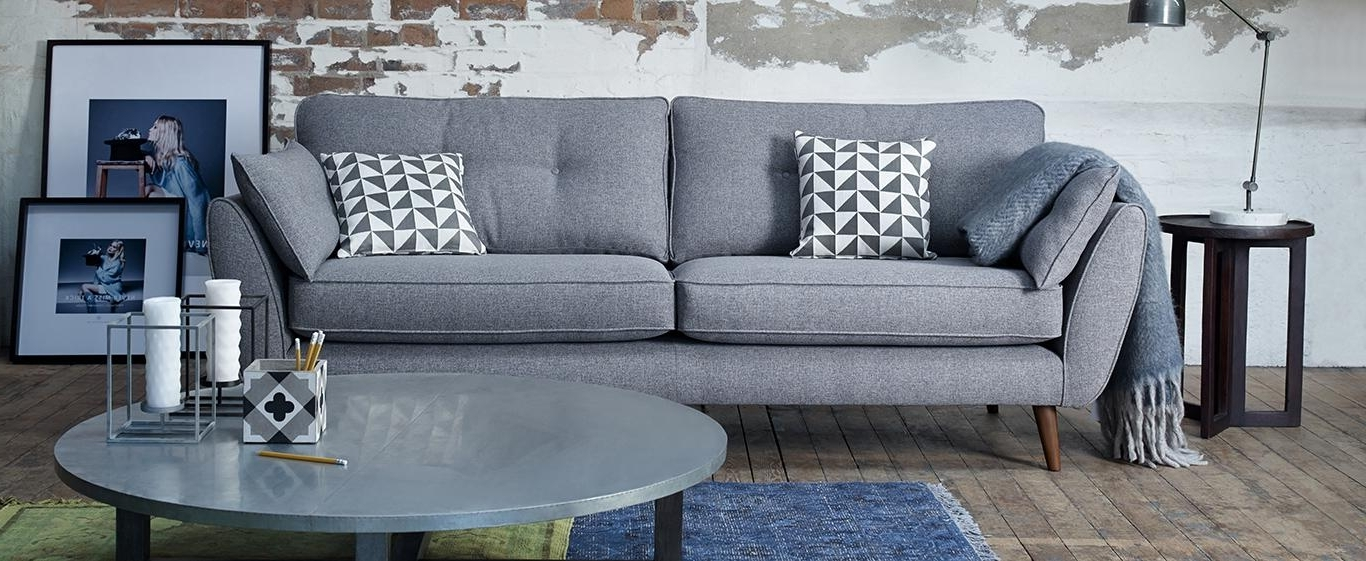 Modern Sofas Pertaining To Best And Newest Contemporary And Modern Sofas (View 10 of 10)