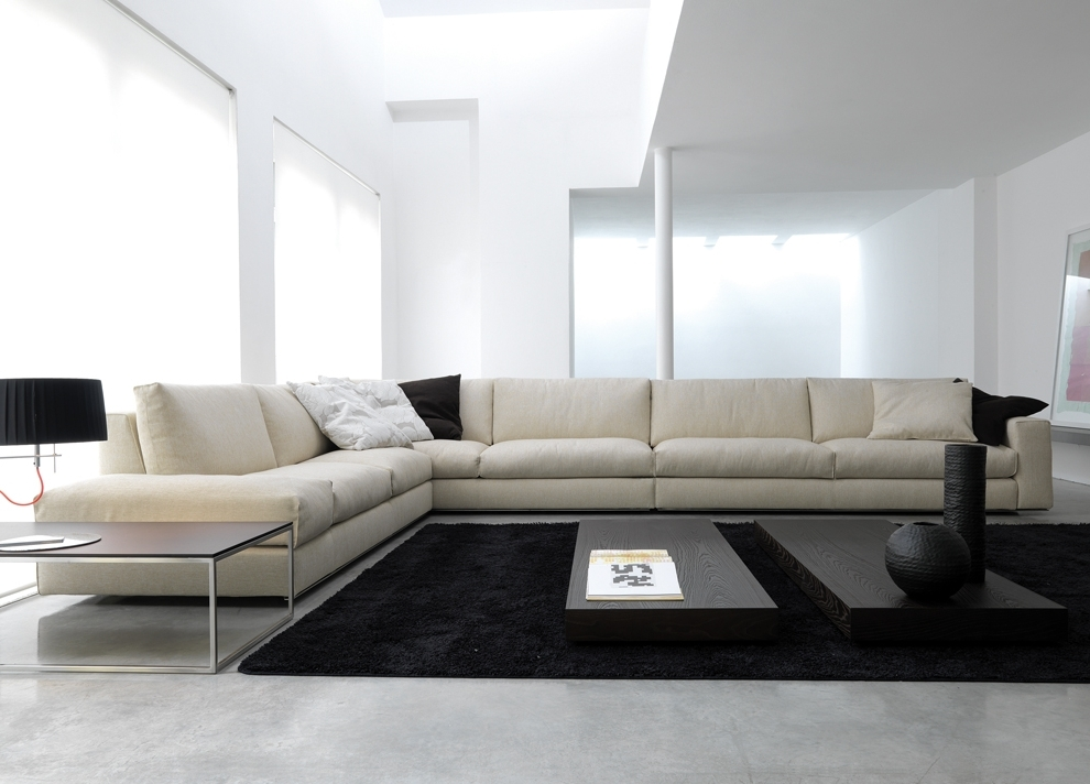 Modern Sofas With Favorite Long Modern Sofas (View 5 of 10)