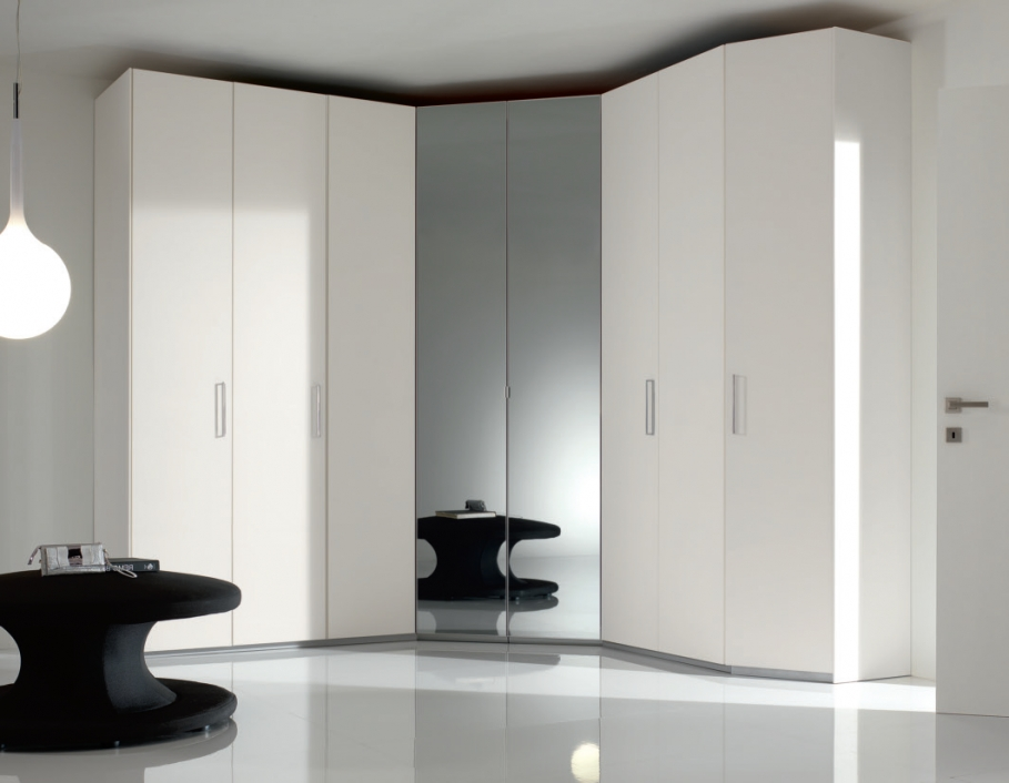 Modern Wardrobes – Mig Furniture Regarding Latest White Corner Wardrobes Units (View 3 of 15)