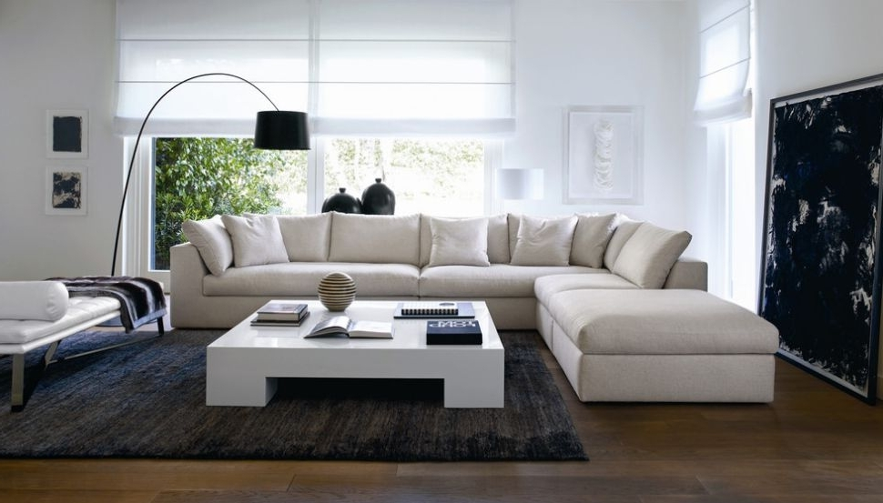 Modular L Shaped Couches — Fabrizio Design : Stylish L Shaped Regarding Trendy L Shaped Sofas (View 9 of 10)