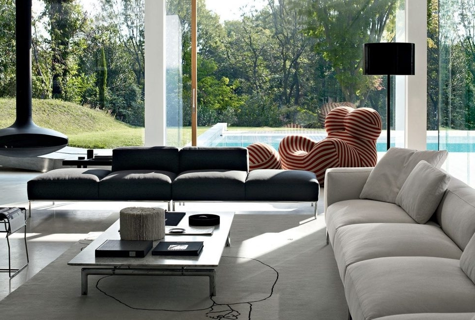 Modular Sectional Sofa Microfiber (View 6 of 10)