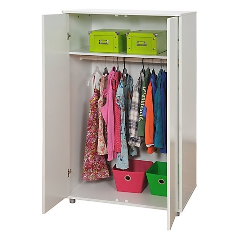 Modular Storage Short Wardrobe Whitestompa Throughout Favorite Short Wardrobes (View 5 of 15)