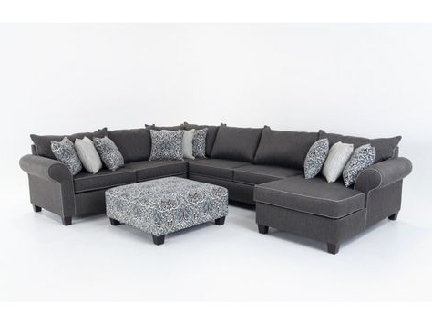 Most Current 102X102 Sectional Sofas Intended For Four Seasons Daniel Daniel 3 Piece Sectional – Jordan's Furniture (View 7 of 10)