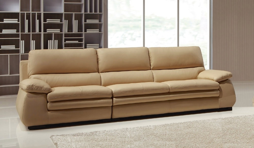 Most Current 4 Seater Sofas Inside Carleto Luxury Leather Sofa – 4 Seater – High Quality – Delux Deco (View 5 of 10)