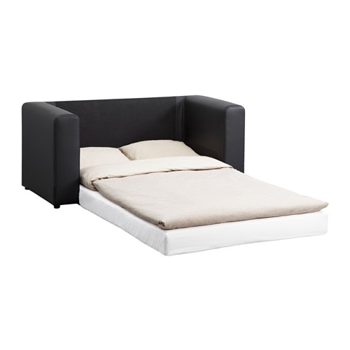 Most Current Askeby Two Seat Sofa Bed Black – Ikea Throughout Ikea Two Seater Sofas (View 8 of 10)
