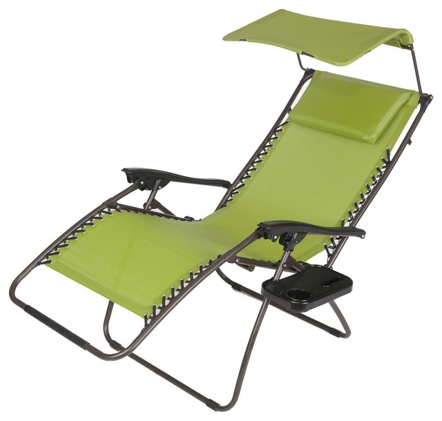Most Current Chaise Lounge Chair With Canopy With Regard To The Awesome Zero Gravity Chaise Lounge White Nealasher Chair Zero (View 9 of 15)