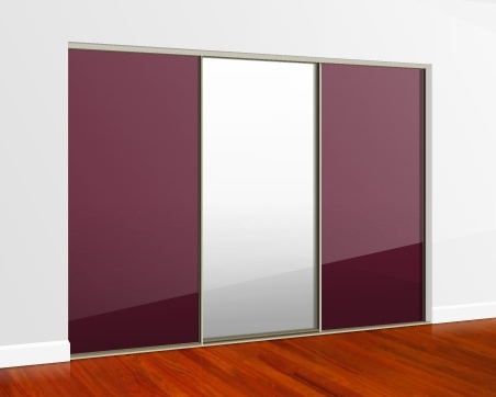 Most Current Cheap Mirrored Wardrobes Inside Sliding Mirror Wardrobe Doors Direct (View 14 of 15)