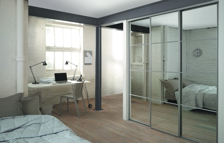 Most Current Cheap Wardrobes With Mirror Within Mirror Design Ideas: Perfect Lighting Mirror Wardrobe Sliding (View 11 of 15)