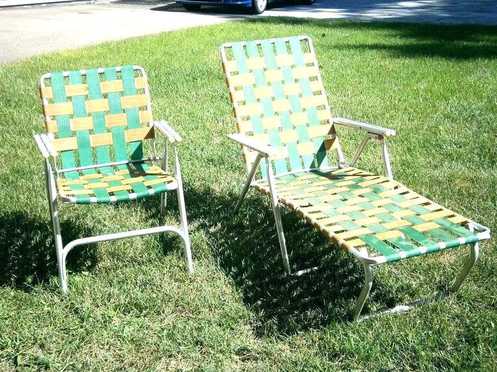 Most Current Check This Aluminum Folding Lawn Chair – Kahinarte In Web Chaise Lounge Lawn Chairs (View 6 of 15)