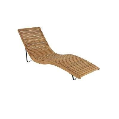 Most Current Curved Chaise Lounges Throughout Chaise Lounge – Chairs – Living Room Furniture – The Home Depot (View 15 of 15)