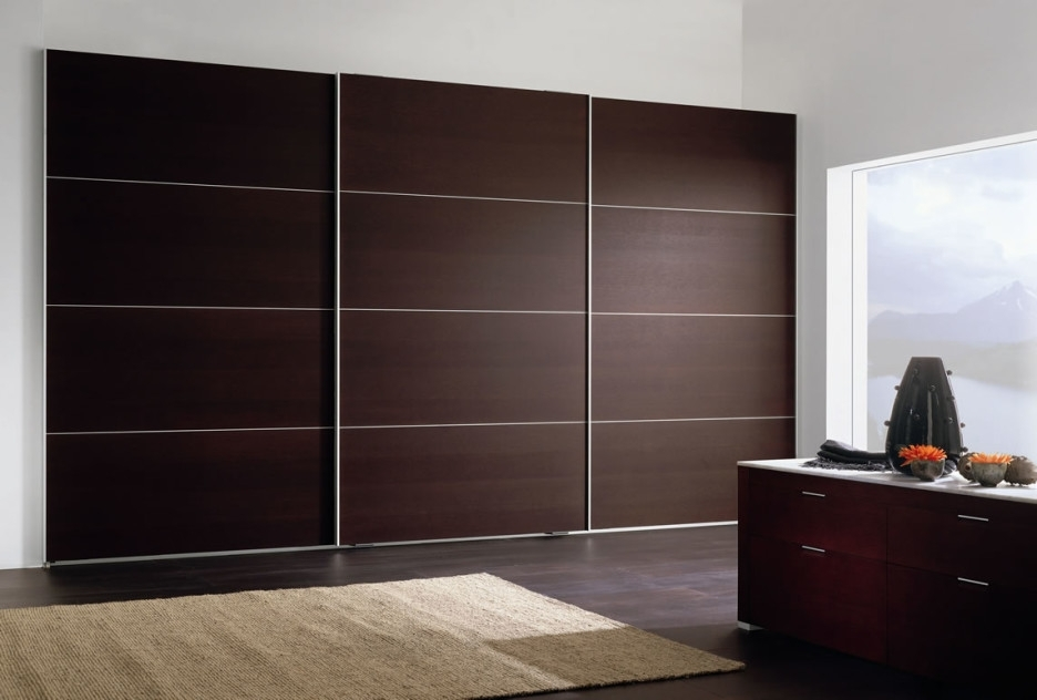 Most Current Dark Brown Wardrobes Intended For Furniture Modern Home Interior Design With Large Dark Brown (View 13 of 15)