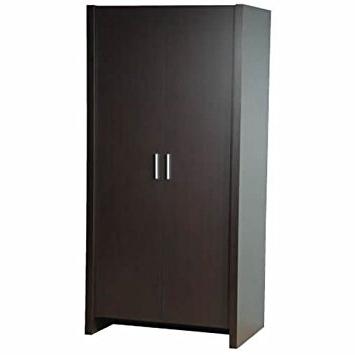 Most Current Dark Brown Wardrobes Regarding Denver Espresso Brown Wardrobe – Dark Wood Furniture – Bedroom (View 7 of 15)