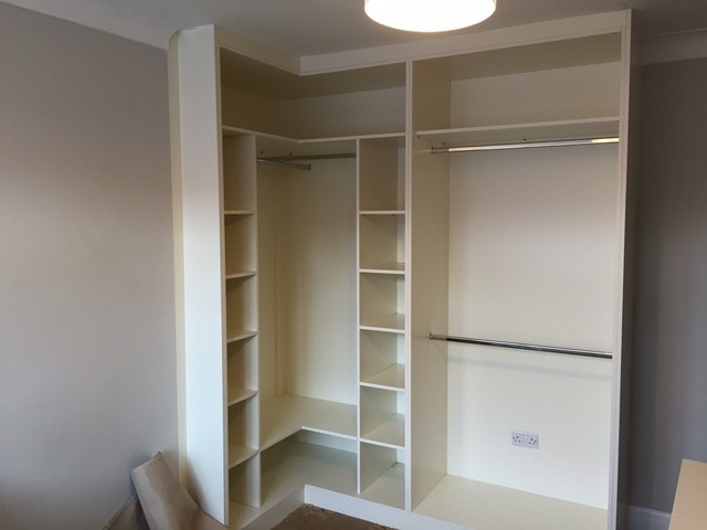 Most Current Fitted Corner Wardrobes – Modern – Wardrobe – London  Capital Regarding Cheap Corner Wardrobes (View 8 of 15)