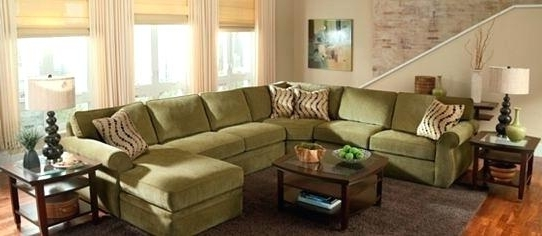 Most Current Green Sectional Sofas With Chaise With Exotic Green Sectional Couch Download Rustic Velvet Sectional Sofa (View 4 of 10)