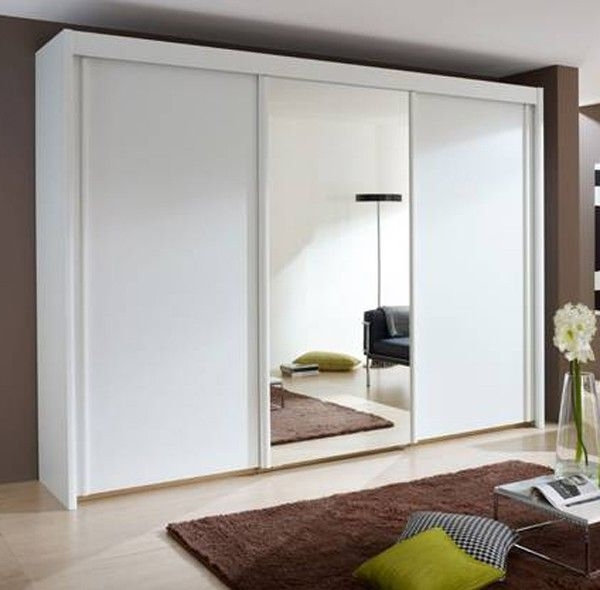 Most Current Imperial Wardrobes With Regard To Rauch Imperial 3 Door Sliding Wardrobe With 1 Mirror 250Cm (View 10 of 15)