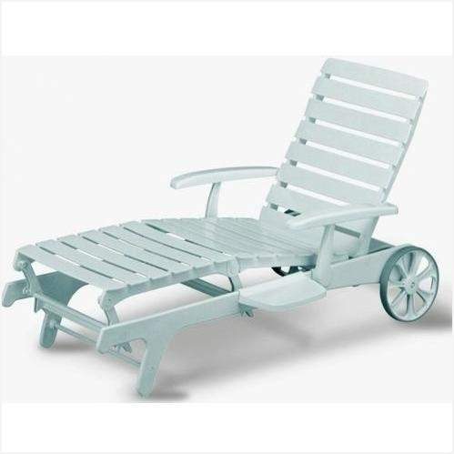 Most Current Kettler Chaise Lounge Chairs Regarding White Plastic Outdoor Chaise Lounge Chairs For Better Experiences (View 9 of 15)