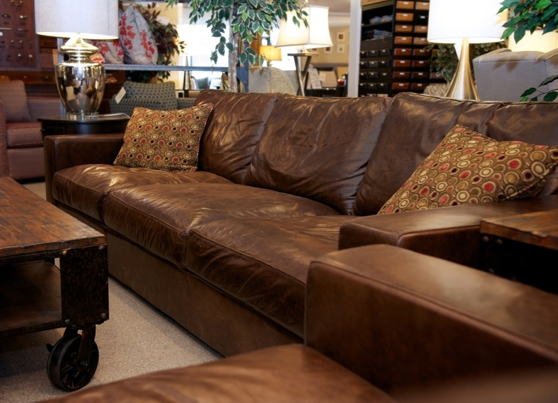 Most Current Oakville Sectional Sofas For Leather Furniture Loft At Joshua Creek Trading, Oakville (View 4 of 10)