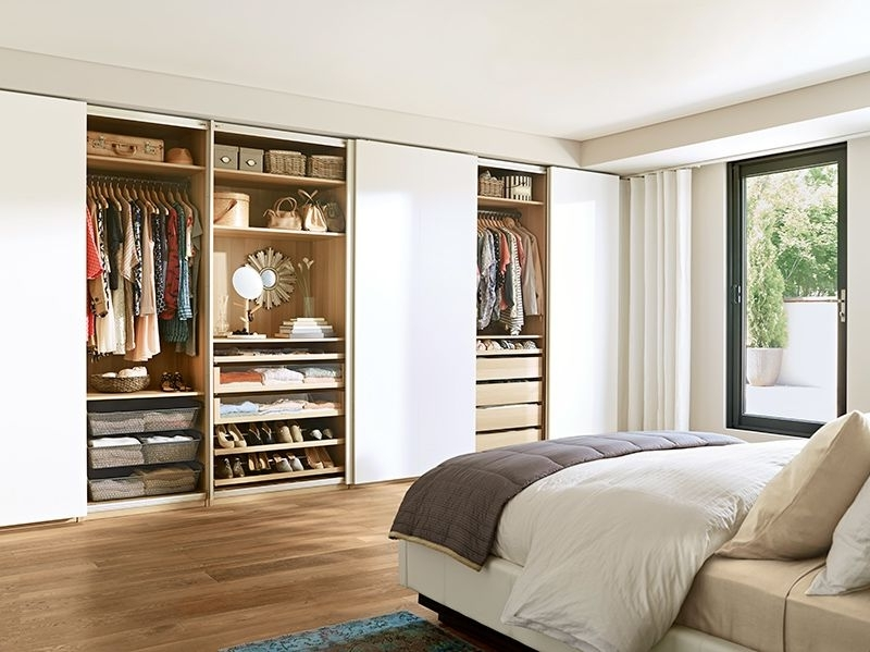 Most Current Picking Your Outfit From Bed Is Within Reach With Pax Wardrobes In Bedroom Wardrobes Storages (View 11 of 15)