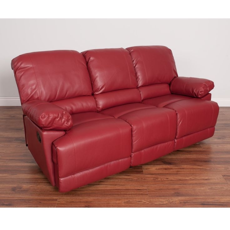 Most Current Red Leather Reclining Sofas And Loveseats Intended For 214 Best Reclining Sofa Images On Pinterest (View 13 of 17)