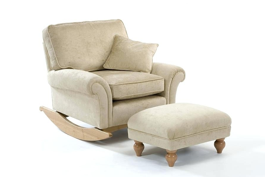 Most Current Rocking Sofa Chair – Wojcicki With Rocking Sofa Chairs (View 6 of 10)