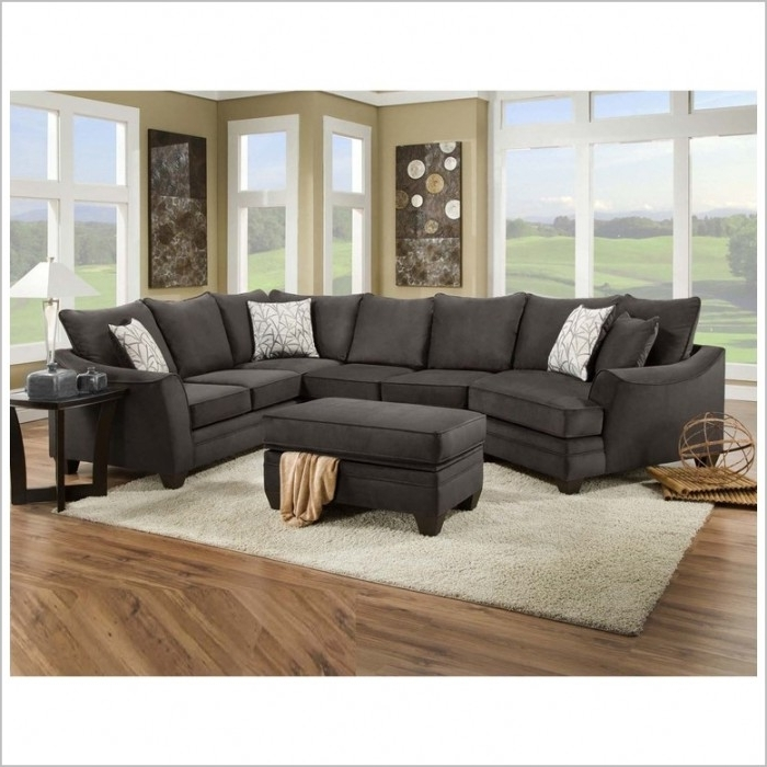 Most Current Sectional Sofas With Cuddler Chaise In Amazing Cuddler Sectional Sofa Gray With Download Page Best Home (View 6 of 15)
