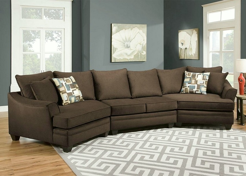 Most Current Sectional Sofas With Cuddler Chaise Throughout See How The Sectional Sofa With Cuddler Chaise Boost Your Home Look (View 7 of 15)
