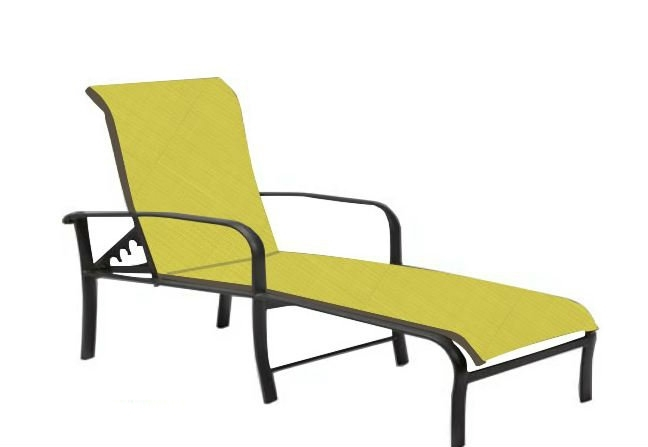 Most Current Sling Chaise Lounge Chair Popular Brown Jordan Slings Patio For Chaise Lounge Sling Chairs (View 10 of 15)
