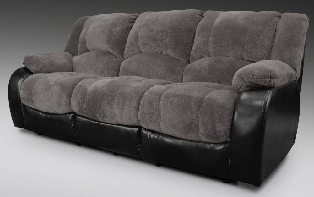 Most Current Soft Sofas For Devon Grey Dual Reclining Sofa Buy In Boston (View 2 of 10)