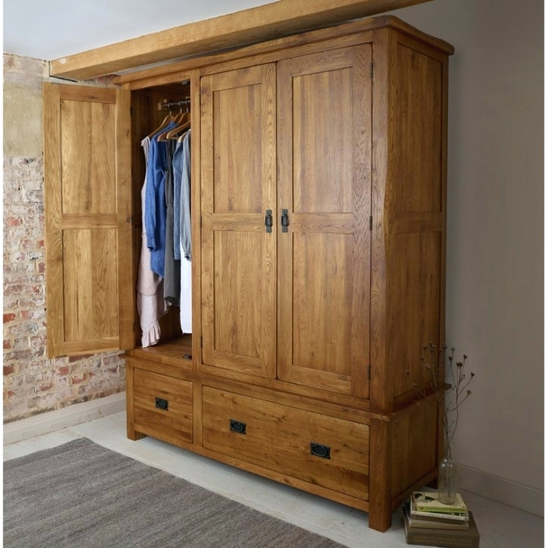 Most Current Wardrobes ~ Solid Wood Furniture For Sale Solid Wood Wardrobes Uk Regarding Oak Wardrobes For Sale (View 11 of 15)