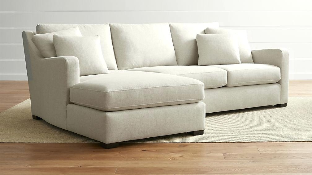 Most Popular 2 Piece Sectional Sofas With Chaise Inside 2 Piece Sectional Sofa With Chaise (View 12 of 15)