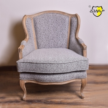 Most Popular Antique Single Sofa Fiberglass Chair French Style Sofa – Buy With French Style Sofas (View 7 of 10)