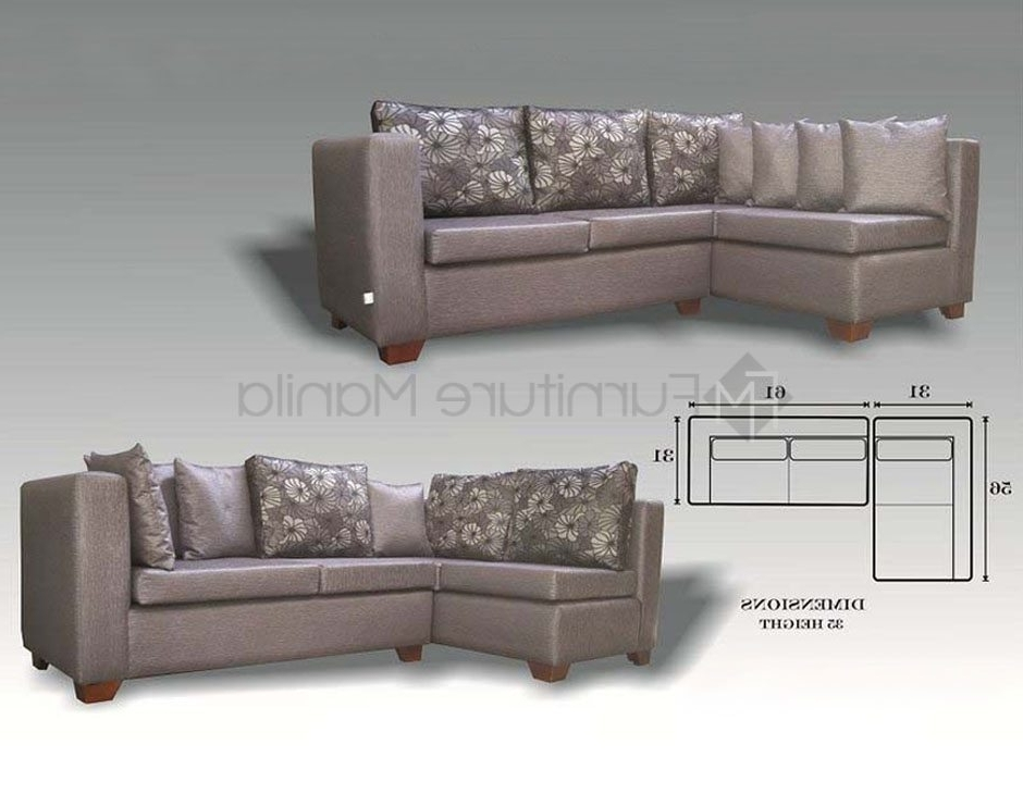 Most Popular Appealing Sectional Sofas Home Office Furniture Philippines In L With Sectional Sofas In Philippines (View 7 of 10)