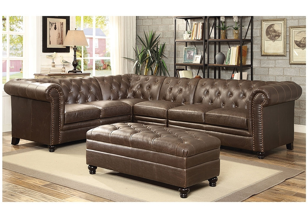 Most Popular Atlantic Bedding And Furniture – Savannah Ga Dark Brown Extended Inside Sectional Sofas In Savannah Ga (View 4 of 10)